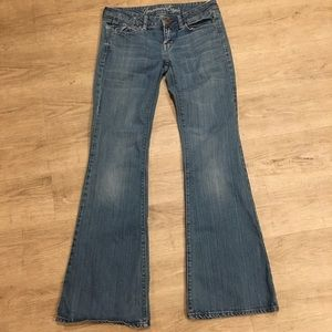 American Eagle Real Flare Blue Jeans Size 2 Reg